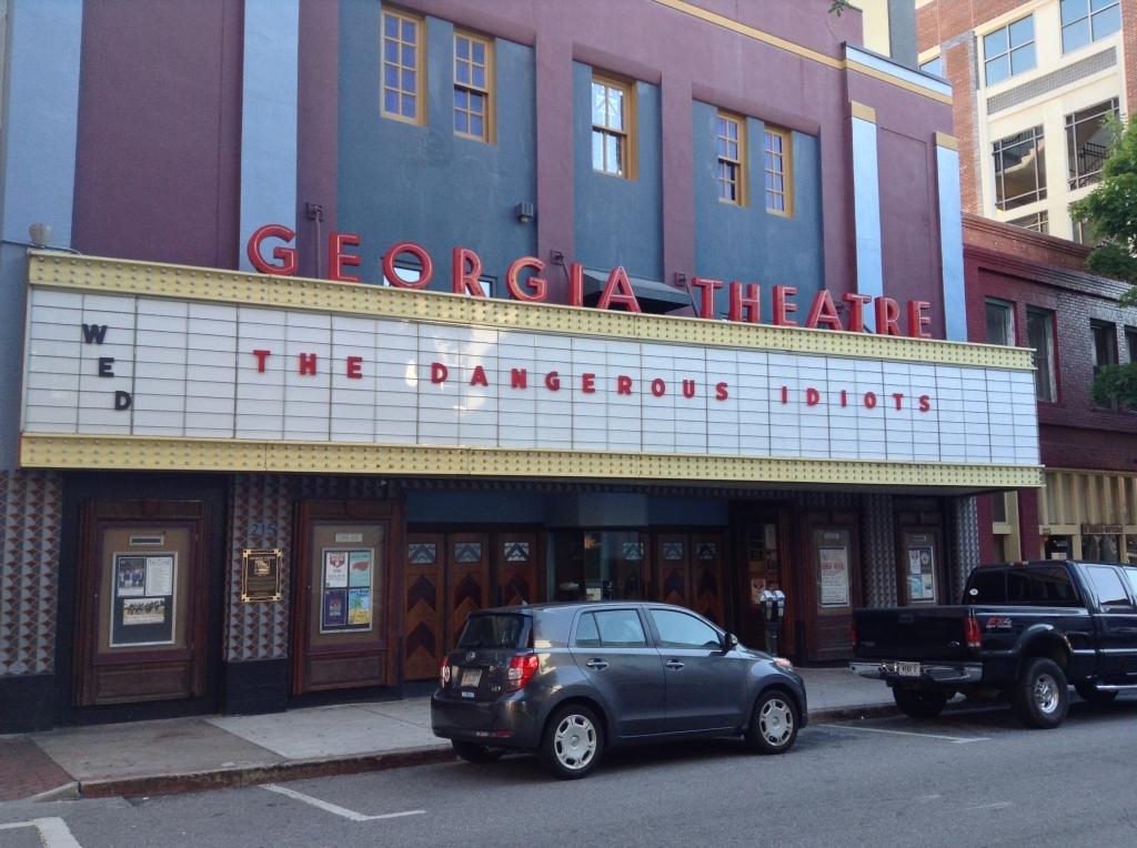 The Dangerous Idiots - at The Georgia Theatre in Athens GA (07-16-14) 1
